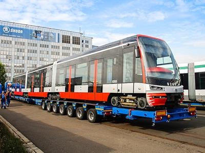 Railway rolling stock consists of all vehicles designed to move on a railway track. Train, tram, wagon, subway, etc...
