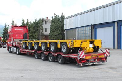MGSL modular axle lines by Cometto