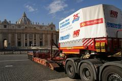 Ol-trans A.Rybka from Poland to Vatican