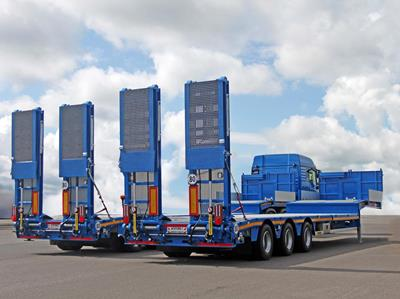 16 low loader units for Gardemann