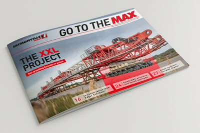 """Go to the MAX"" nr. 28 - The news magazine by the Faymonville Group"