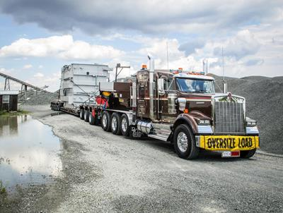 Digging & Rigging moves heaviest loads on Faymonville trailers