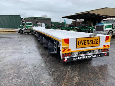 Seventh flatbed trailer for Doolan's Heavy Haulage in Australia