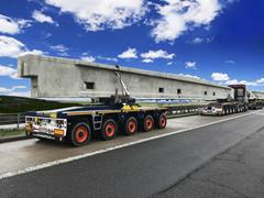 Dolly trailer technology with pendle axles for Universal Transport