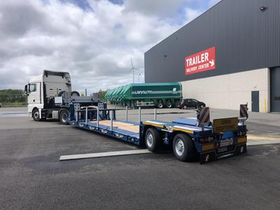 New lowbed semi-trailer for Imherr Spedition