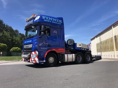 The trailers were sold through Faymonville's long standing UK distributor Traffco Limited